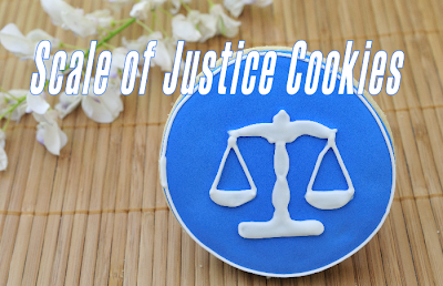 Scale of Justice Cookies
