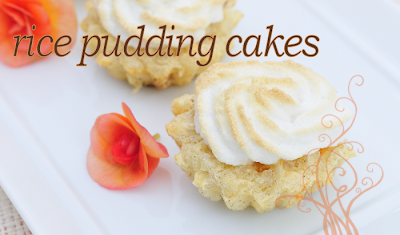 Rice Pudding Cakes