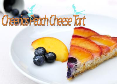 Cheerios Peach Cheese Tart