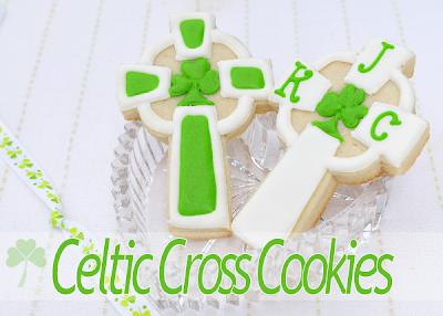 Celtic Cross Cookies