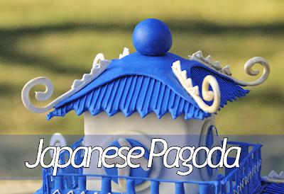 ~ Japanese Pagoda Cake ~