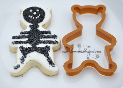 Halloween Bear  Cookies