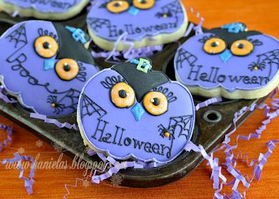 Pumpkin Owl Cookies