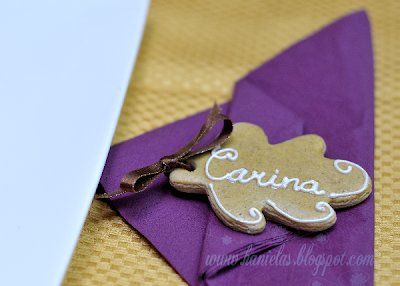 Thanksgiving Table Setting Cookies