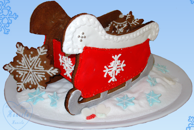 Christmas Gingerbread Centerpieces
