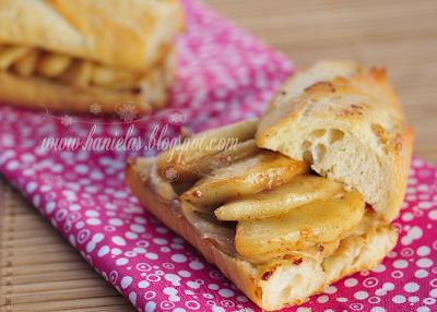 Grilled Apple Peanut Butter Sandwich