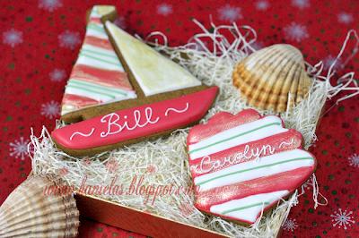 Christmas Sea Cookies