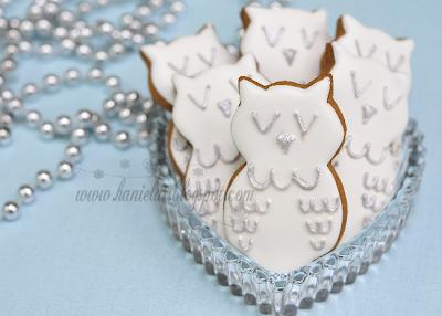 Snow Owl Cookies