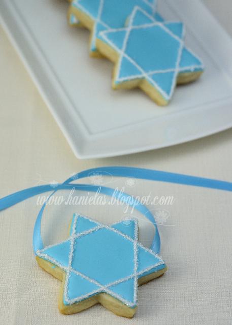 Hanukkah Star Cookies