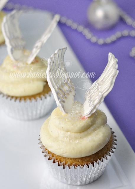 Angel Wings Cupcake Decorations