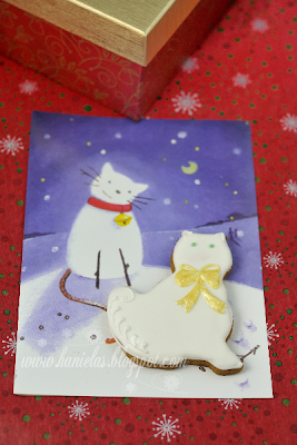 Holiday Cat Cookies