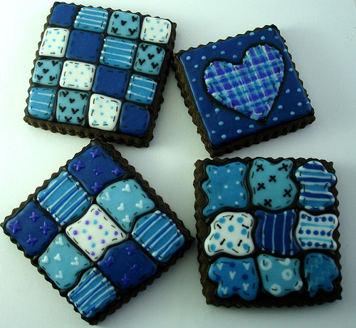 Favorite Quilt Cookies Explore.Sept8.09