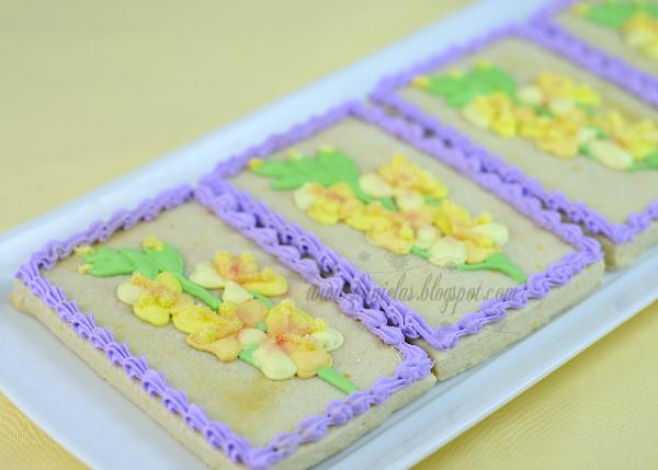 Gladiola Cookies