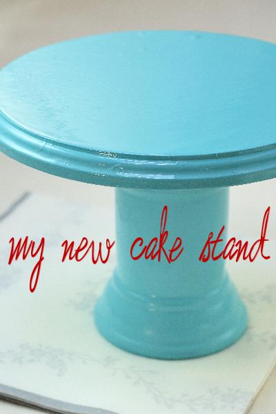 ~DIY Cake Stand~