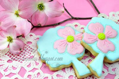 Dogwood Tree Cookies