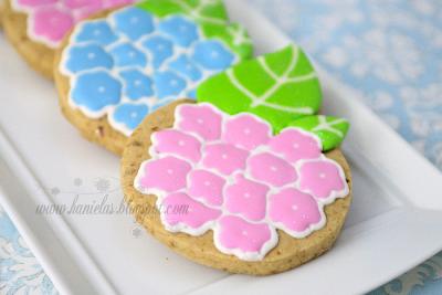 Hydrangea Cookies Tutorial