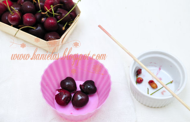 Bamboo Stick as Cherry Pitter