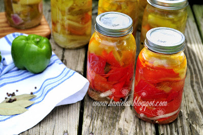 Pickled Peppers in Oil