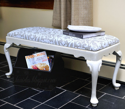 French Style Bench Makeover