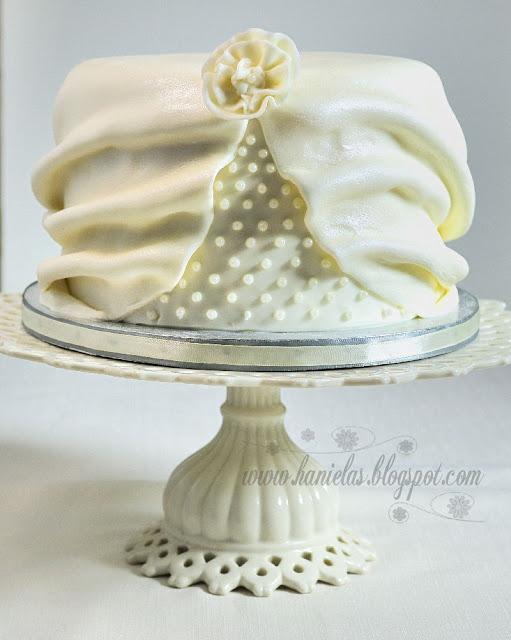 Drapery Cake