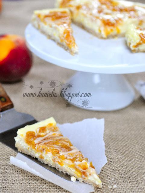 Peach Cheesecake Tart
