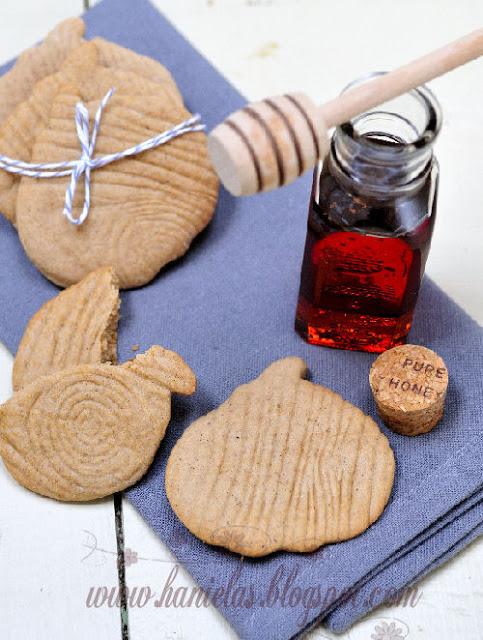 Wood Grain Honey Cookies