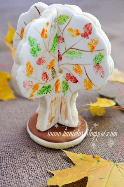 3D Fall Cookie Tree Centerpiece
