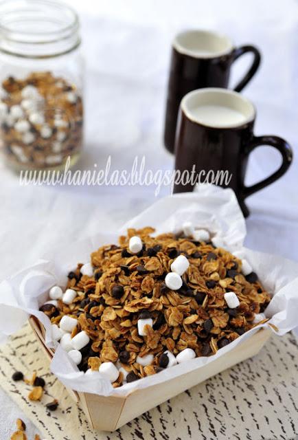 Caramel Coffee Hazelnut Granola