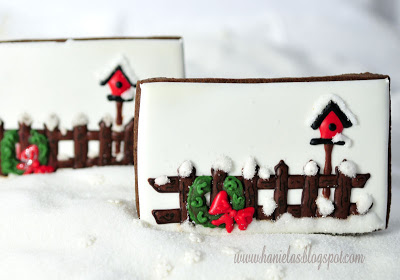 A Picket Fence Cookie