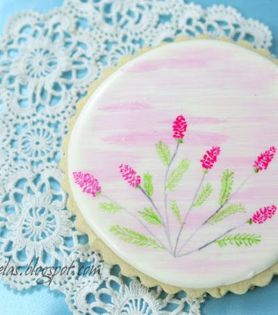 ~Pretty Painted Cookie~