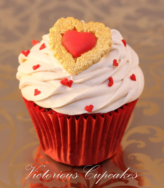 Valentine's Day with Victorious Cupcakes