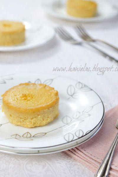~Sweet  Potato Cheese Flan~