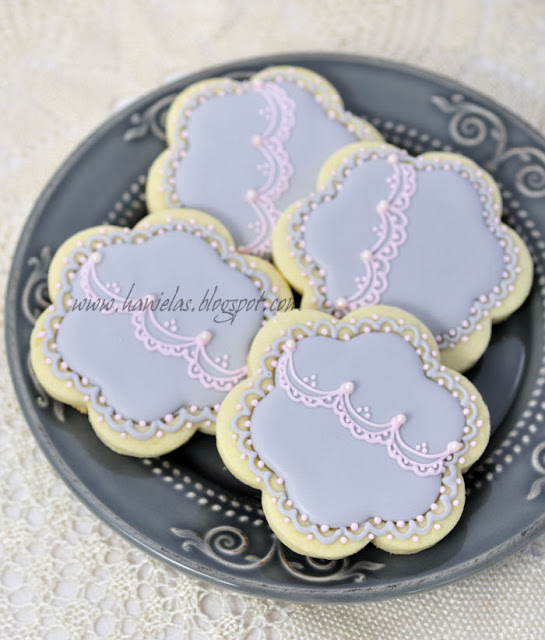 Flower Lace Cookies