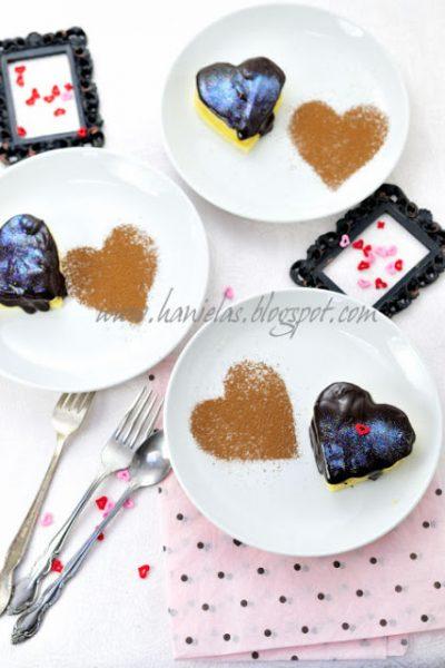 ~Boston Cream Pie  Hearts~