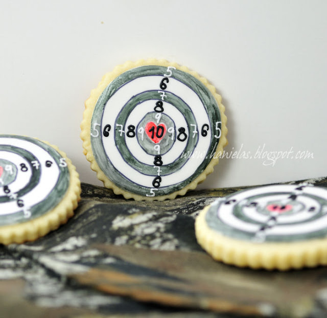 Hunting and Fishing Cookies
