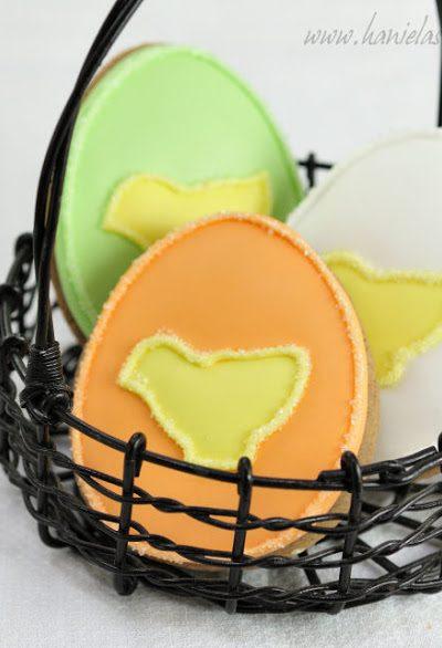 ~Cute Easter Egg Cookies~