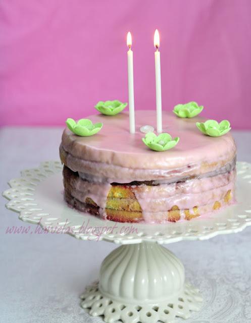 Raspberry Punch Cake