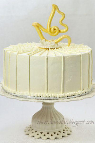 ~Confirmation Dove Cake~