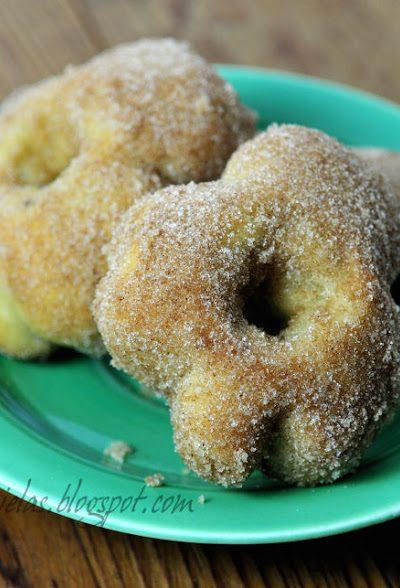 ~ Banana Shamrock Donuts~
