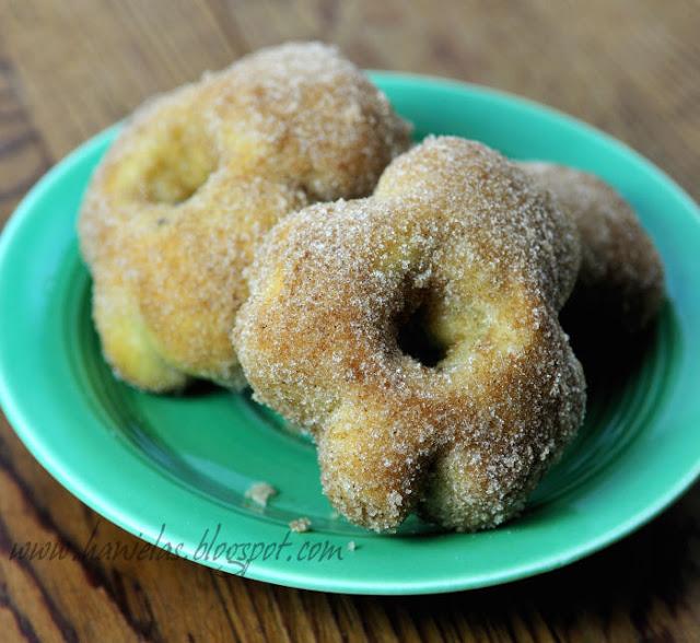 Banana Shamrock Donuts