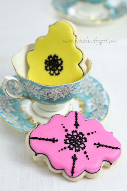 Easy Lace Cookies