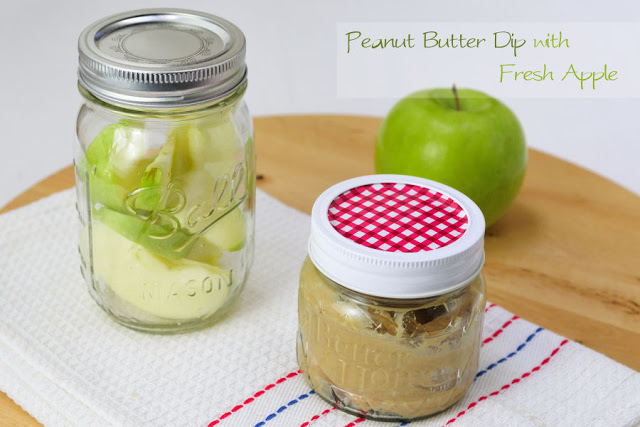 Peanut Butter Dip with Fresh Apples