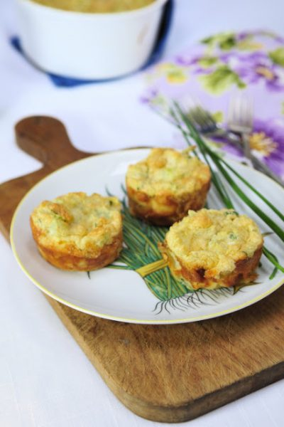 Cauliflower Cheese Souffle