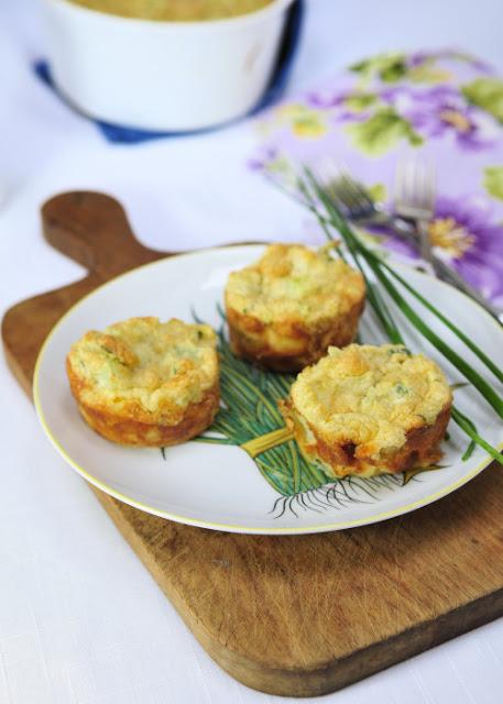 Cauliflower Cheese Souffle
