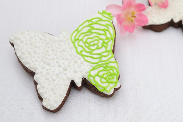 Butterfly Wedding Cookies