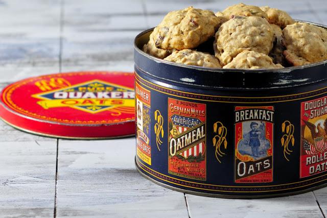 Roasted Banana Oat Cookies