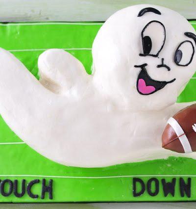 Casper the Friendly Ghost Cake