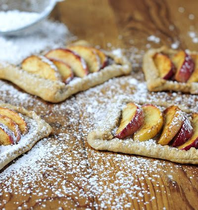 Apple Tarts and  Whole Wheat Sour Cream Crust