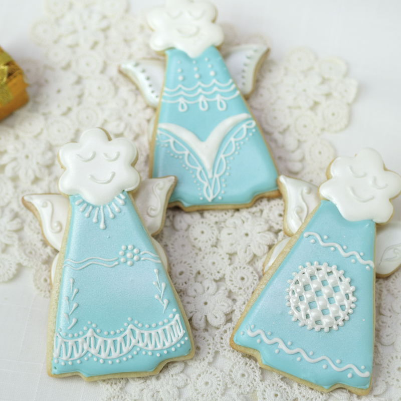Christmas Angel Cookies Haniela S Recipes Cookie Cake