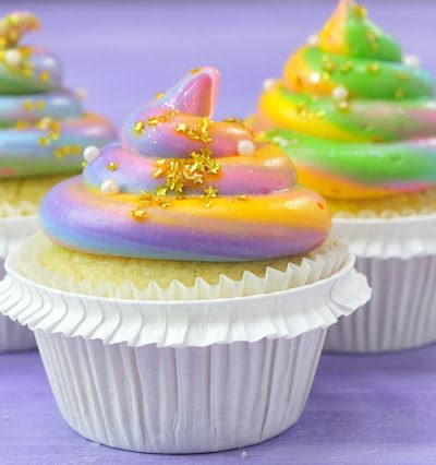 Unicorn Poop Cupcakes and Princess Party Collaboration